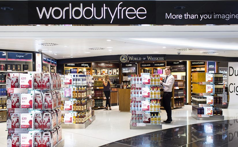 World Duty Free Shop UK Airport