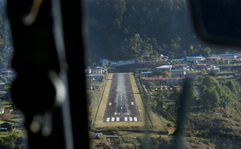We Are Now Taking Off From 22000 Feet