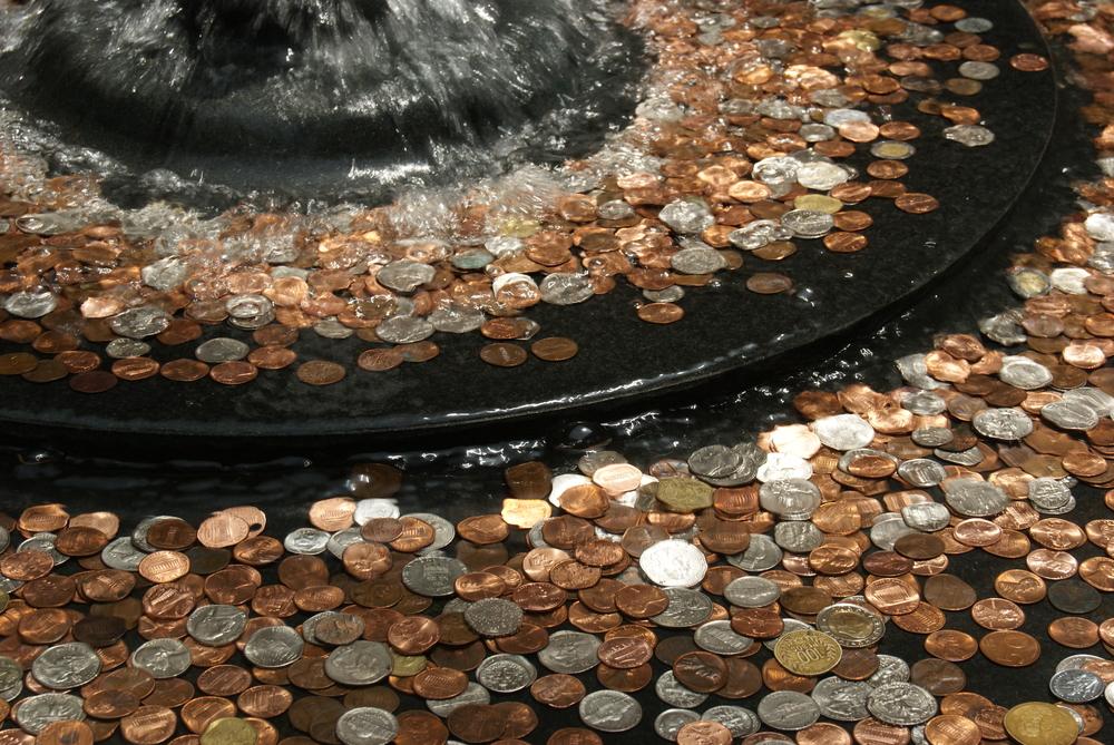 fountain-coins