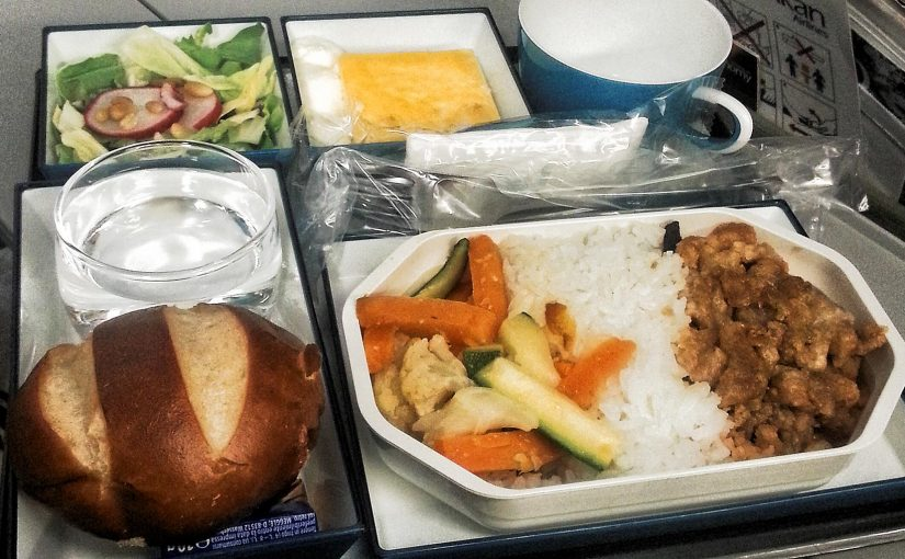 How healthy are airline meals?