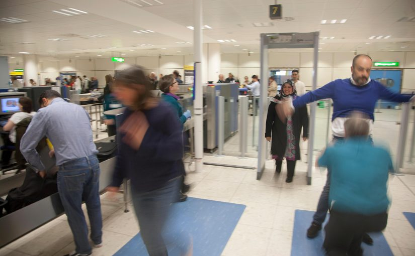 Please Arrive at the Airport 6 Hours Before Your Flight to Clear Security