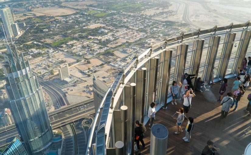 Burj Khalifa Viewing deck