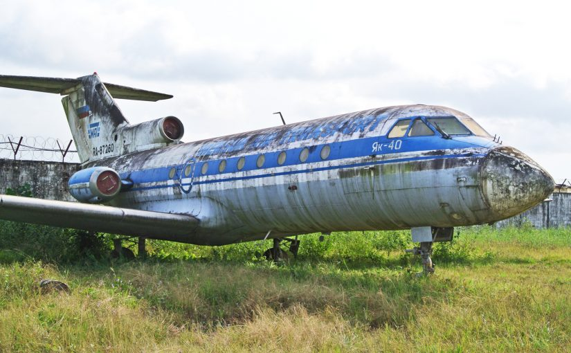 The Plane You're Flying on is 47 Years Old